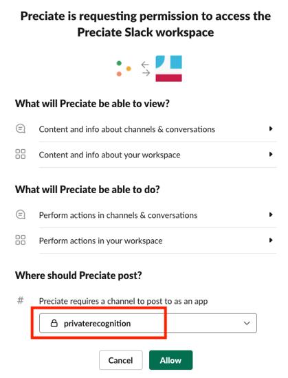 Private Channel Permission